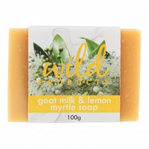 Goat Milk & Lemon Myrtle Handmade Soap